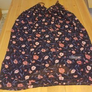NWOT Forever 21 sheer floral sheath dress
